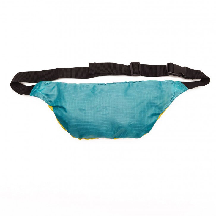 Сумка на пояс OBEY Ripstop Daily Sling Pack Aqua/Yellow, фото 2