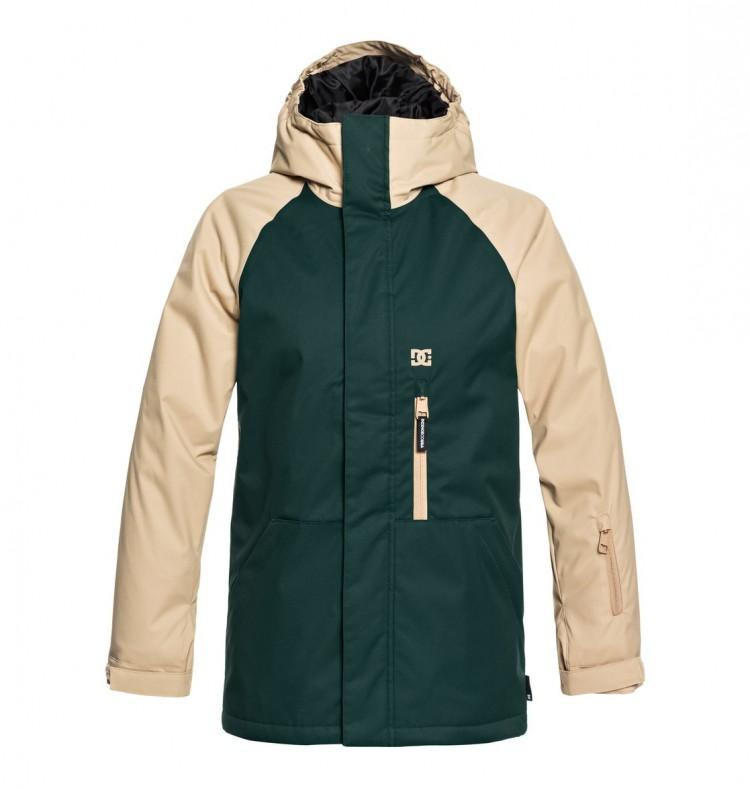 Купить Куртка для сноуборда детская DC SHOES Ripley Youth B Pine Grove, Китай