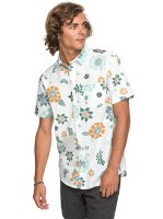 Рубашка мужская QUIKSILVER Sunsetfloralss M White Sunset Floral Ss