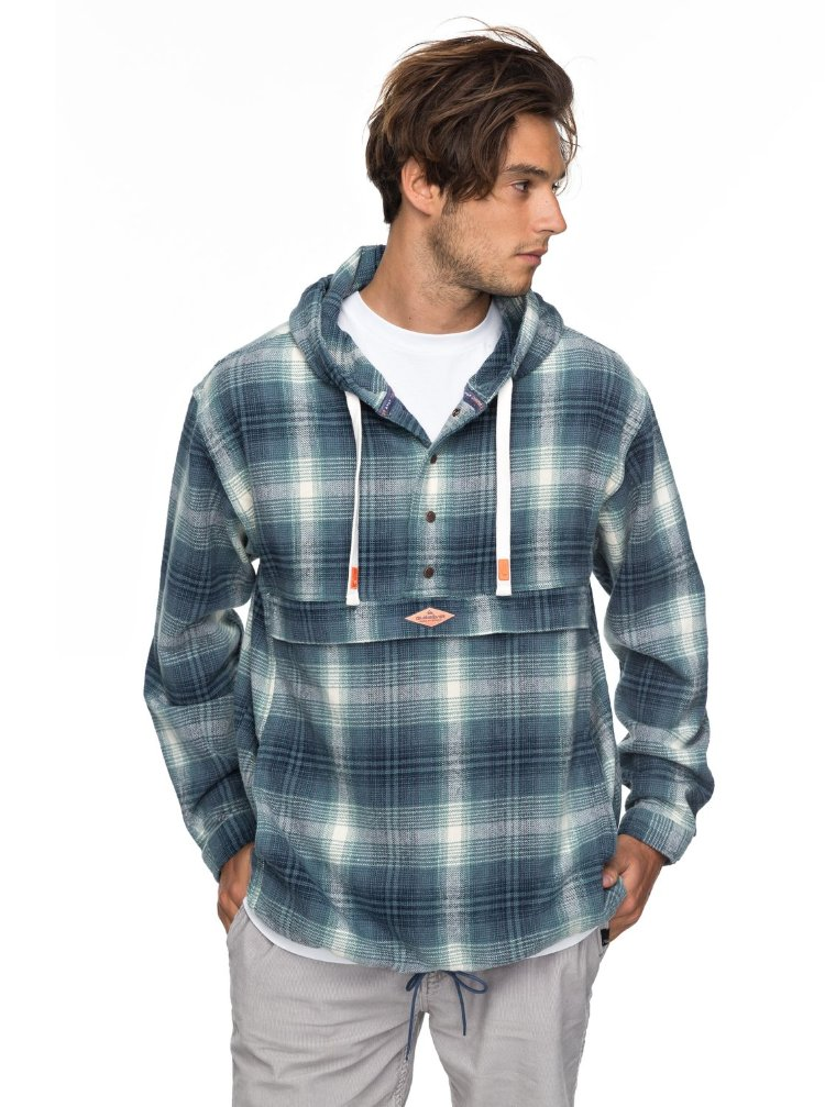 Купить Куртка мужская QUIKSILVER Madwaxjkt2 M Vintage Indigo Mad Wax, Индия