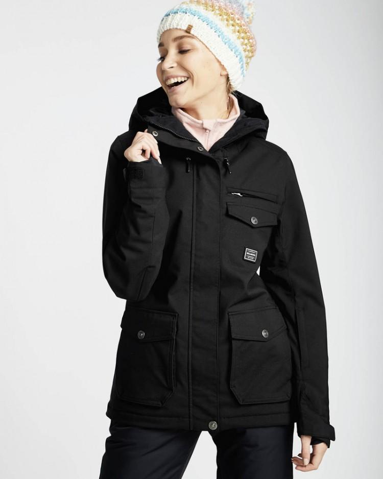Купить Куртка для сноуборда женская BILLABONG Elodie Black Caviar, Вьетнам