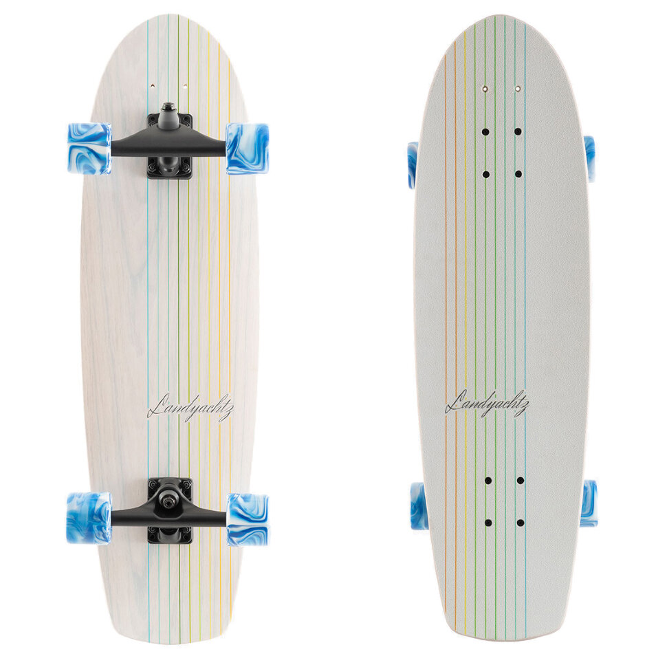 Комплект лонгборд LANDYACHTZ Butter White Oak Lines 9 дюйм 8274140808686