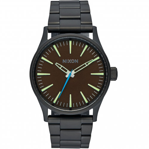 Купить Часы NIXON Sentry 38 Ss A/S All Black/Brown, Китай
