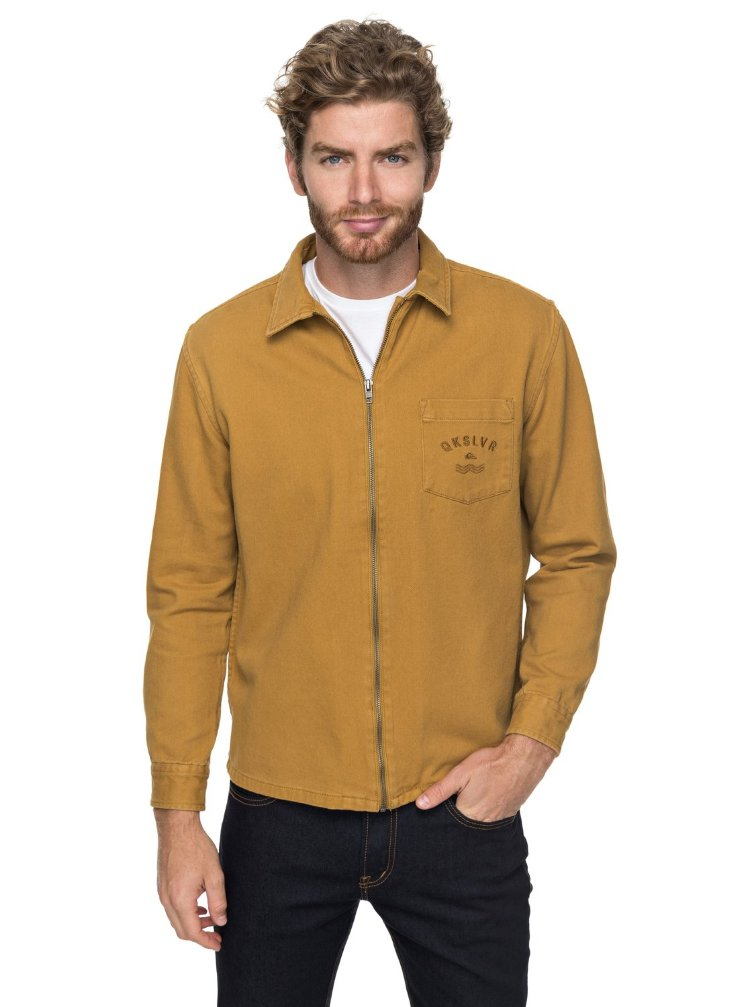 Купить Куртка мужская QUIKSILVER Risertwilljkt M Cathay Spice, Индия