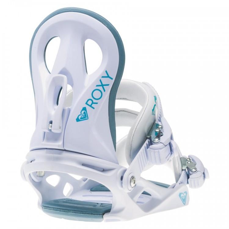 Купить Крепления для сноуборда женские ROXY Glow Binding White, Китай
