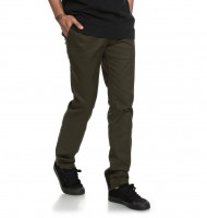 Брюки DC SHOES Worker Slim M Dark Olive