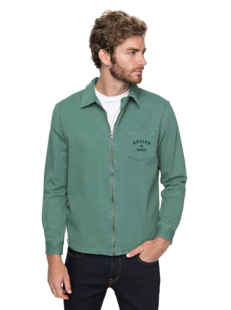 Купить Куртка мужская QUIKSILVER Risertwilljkt M Mallard Green, Индия
