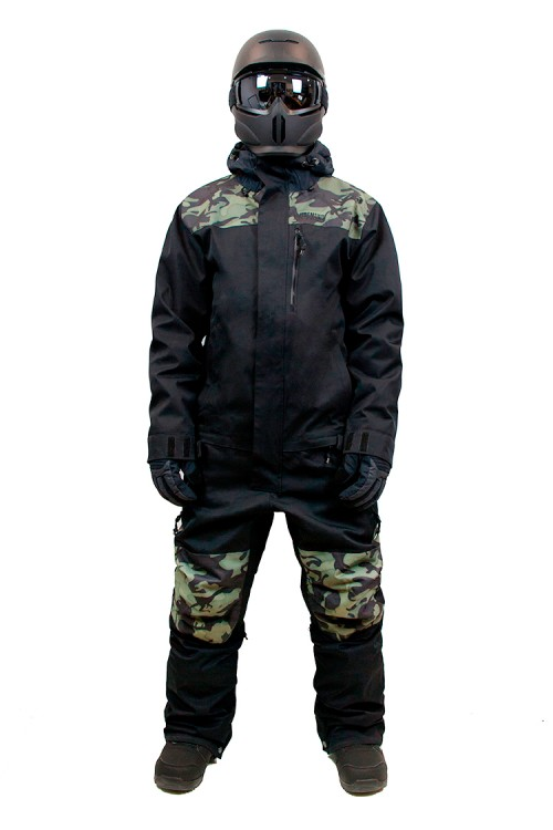 55966d300 Комбинезон мужской AIRBLASTER Freedom Suit Black Stealth Dino, фото 1