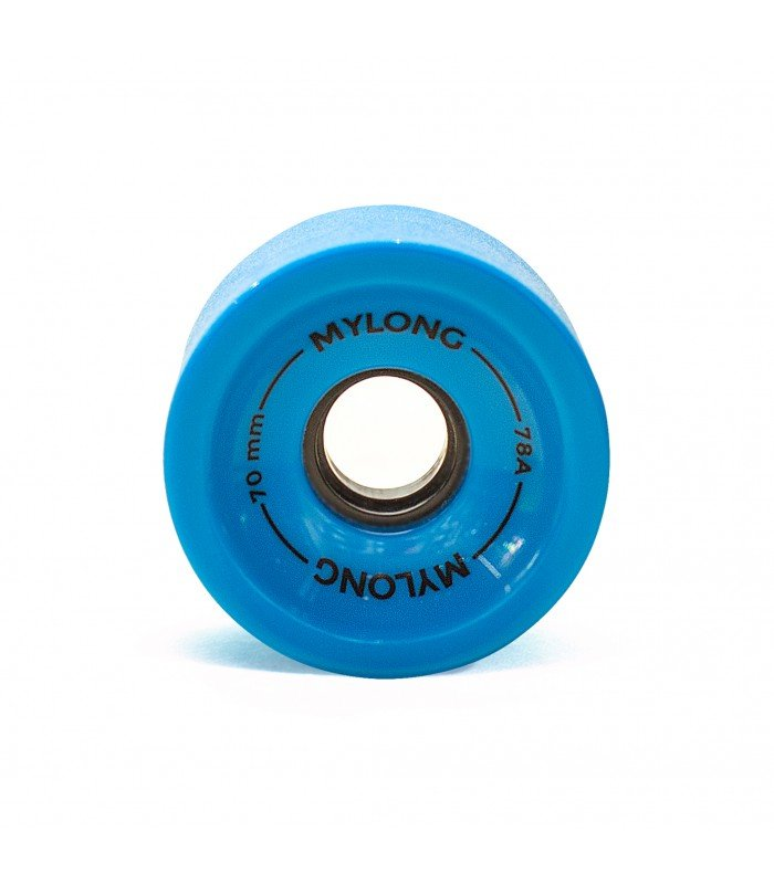 Купить Колеса для лонгборда MYLONG 70x51 Голубые С Лого 70 mm, Китай