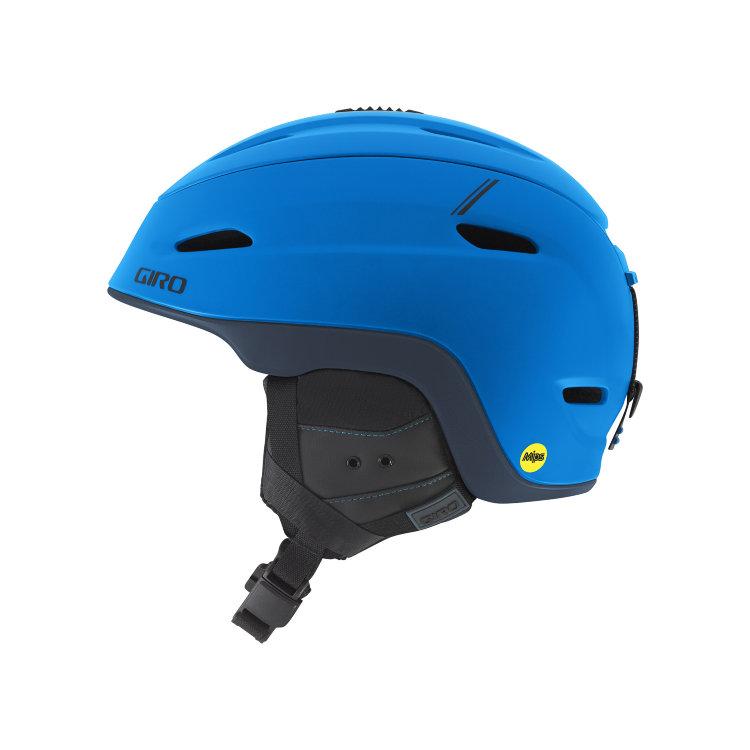Купить Горнолыжный шлем GIRO Zone MIPS Matte Blue/Turbulence