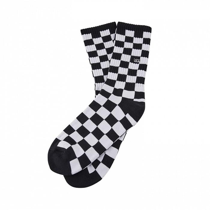 Носки VANS Checkerboard Crew Black/White 2020 фото