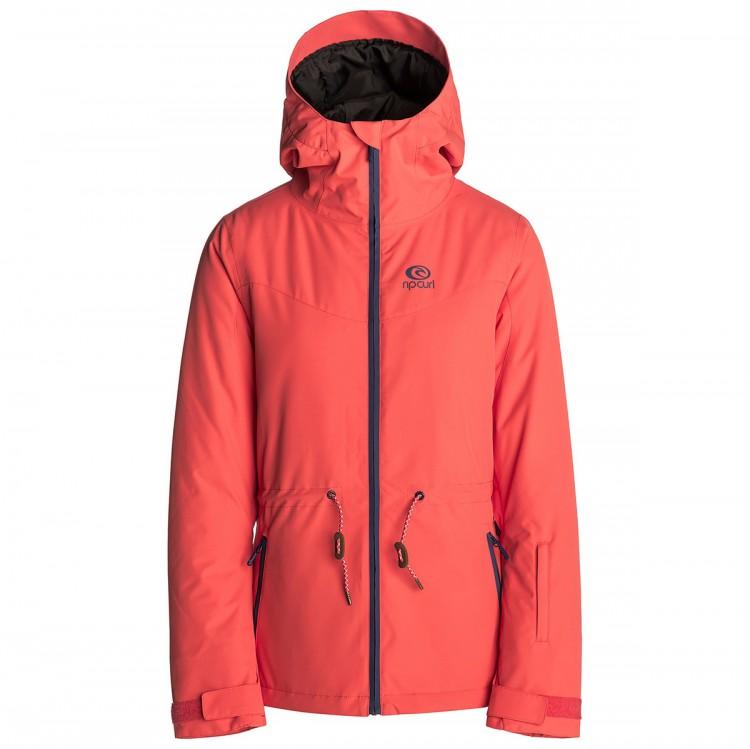 855409e7b122 Куртка для сноуборда женская RIP CURL Betty Plain Hot Coral — купить ...