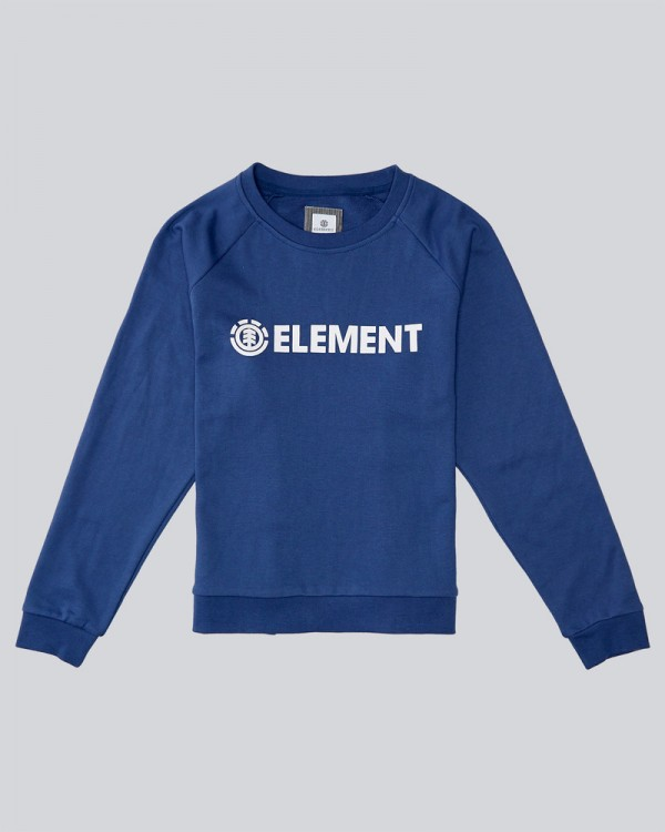 Толстовка ELEMENT Logic Crew Blueberry, фото 1