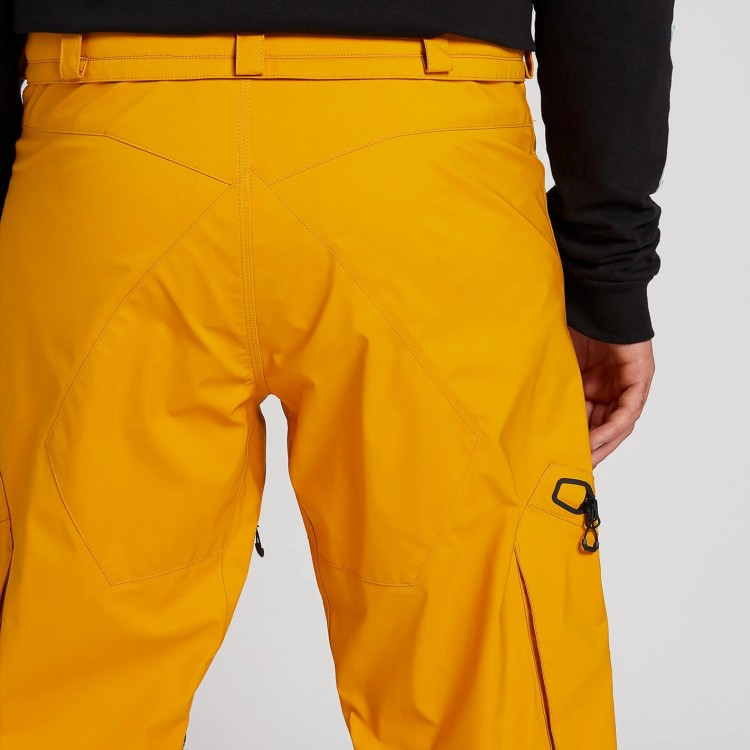 Штаны для сноуборда мужские VOLCOM Guch Stretch Gore-Tex Pant Resin Gold, фото 4