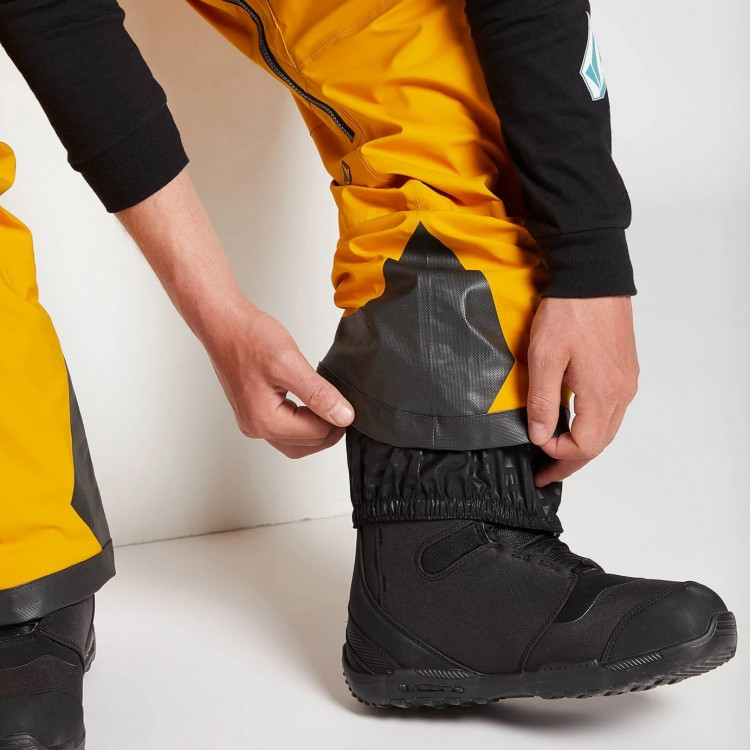 Штаны для сноуборда мужские VOLCOM Guch Stretch Gore-Tex Pant Resin Gold, фото 5