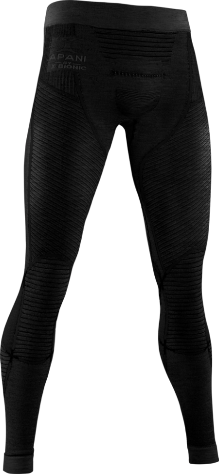 Термоштаны X-BIONIC Apani® 4.0 Merino Pants Men Black/Black фото