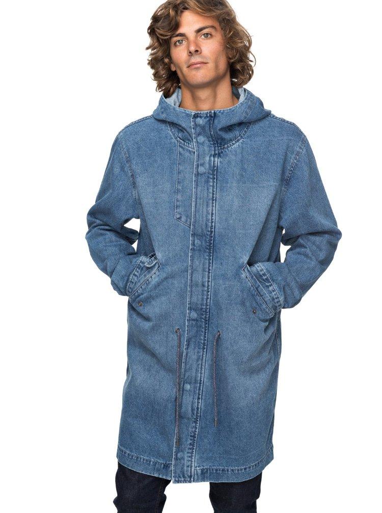 Купить Куртка мужская QUIKSILVER Brickdrenimjkt M Blue Used, Китай