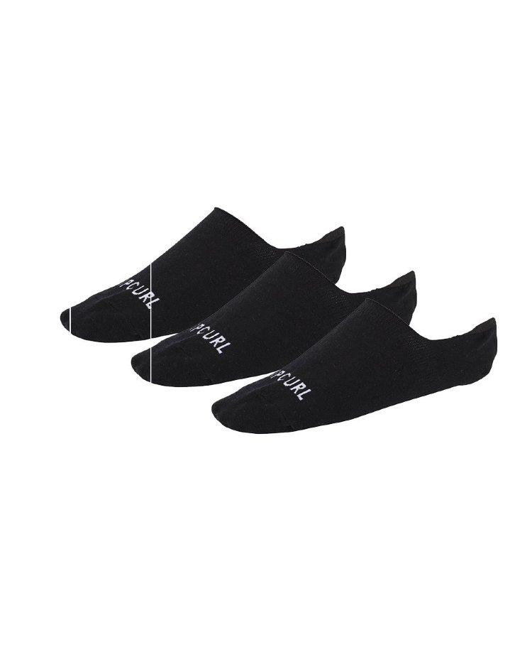 Купить Комплект носков (3 пары) RIP CURL Rip Curl Invisible Sck 3P Black, Китай