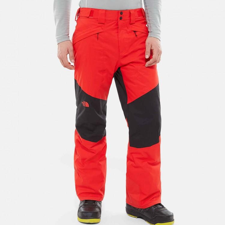 Купить Штаны для сноуборда мужские THE NORTH FACE M Presena Trousers Fiery Red/TNF Black, Бангладеш
