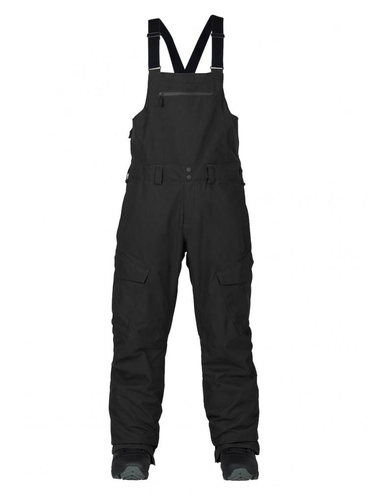 Купить Штаны для сноуборда мужские BURTON Mb Reserve Bib Pant True Black