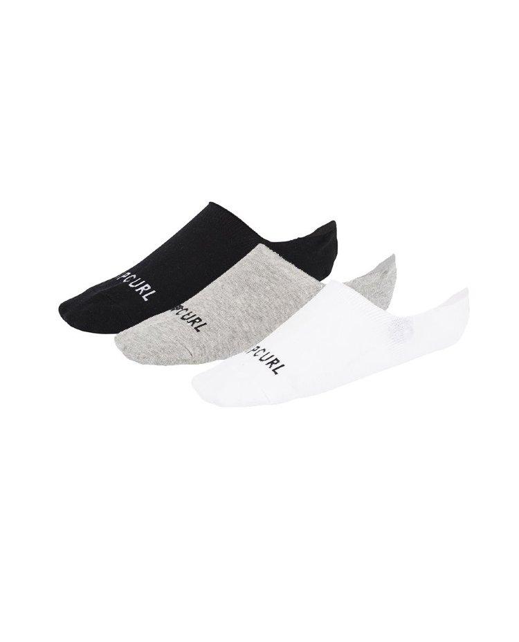 Купить Комплект носков (3 пары) RIP CURL Rip Curl Invisible Sck 3P Classic, Китай