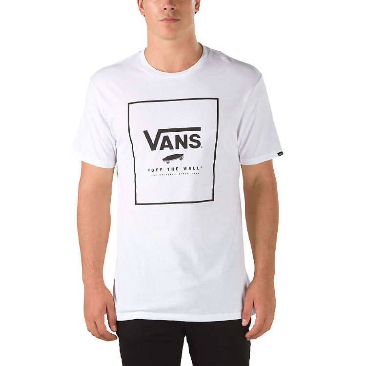Купить Футболка VANS Mn Print Box White/Black, Грузия