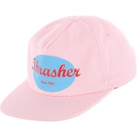 Кепка THRASHER Oval Snapback PINK