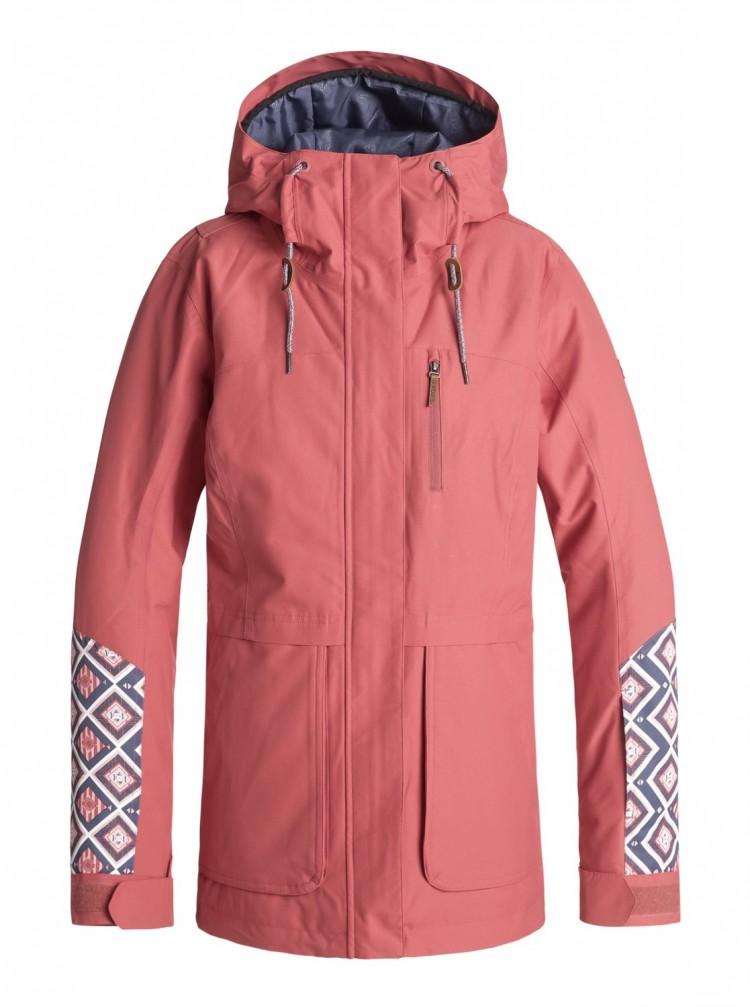 Купить Куртка для сноуборда женская ROXY Andie Jk J Dusty Cedar, Китай
