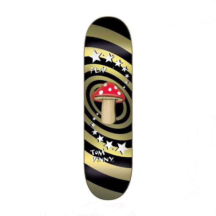 Купить Дека Для Скейтборда FLIP Tom Penny Deck MUSHROOM GOLD 8,25 , Испания