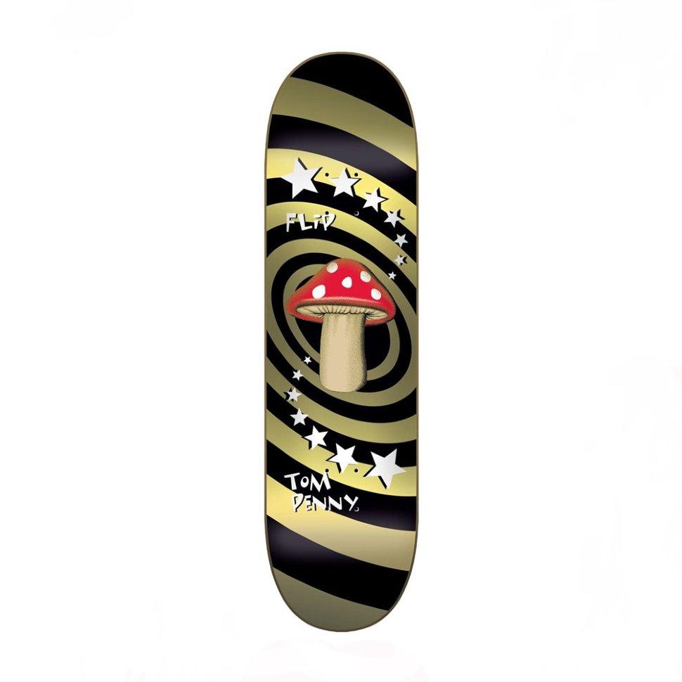 Дека Для Скейтборда FLIP Tom Penny Deck MUSHROOM GOLD 8,25