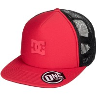 Кепка DC SHOES Greet Up Hdwr Racing Red