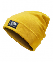 Шапка THE NORTH FACE Dock Worker Beanie Leopard Yellow/Urban Navy