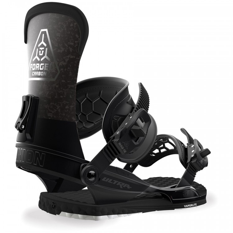 Крепления для сноуборда мужские Union Ultra Black  - купить со скидкой