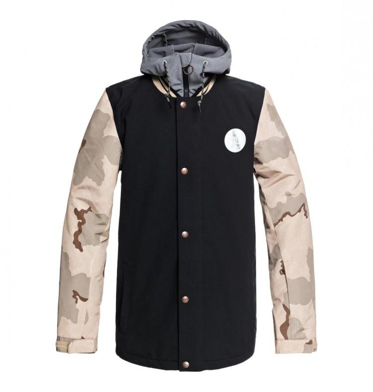 Купить Куртка для сноуборда мужская DC SHOES Dcla Jkt M Incense Dcu Camo Men, Китай