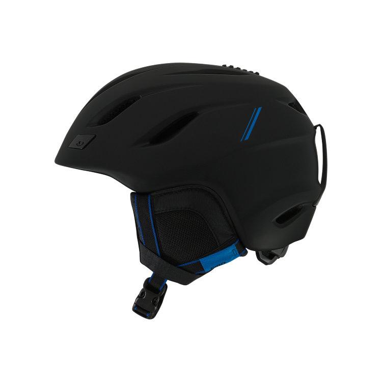 Купить Горнолыжный шлем GIRO Nine Matte Black/Blue Sport Tech