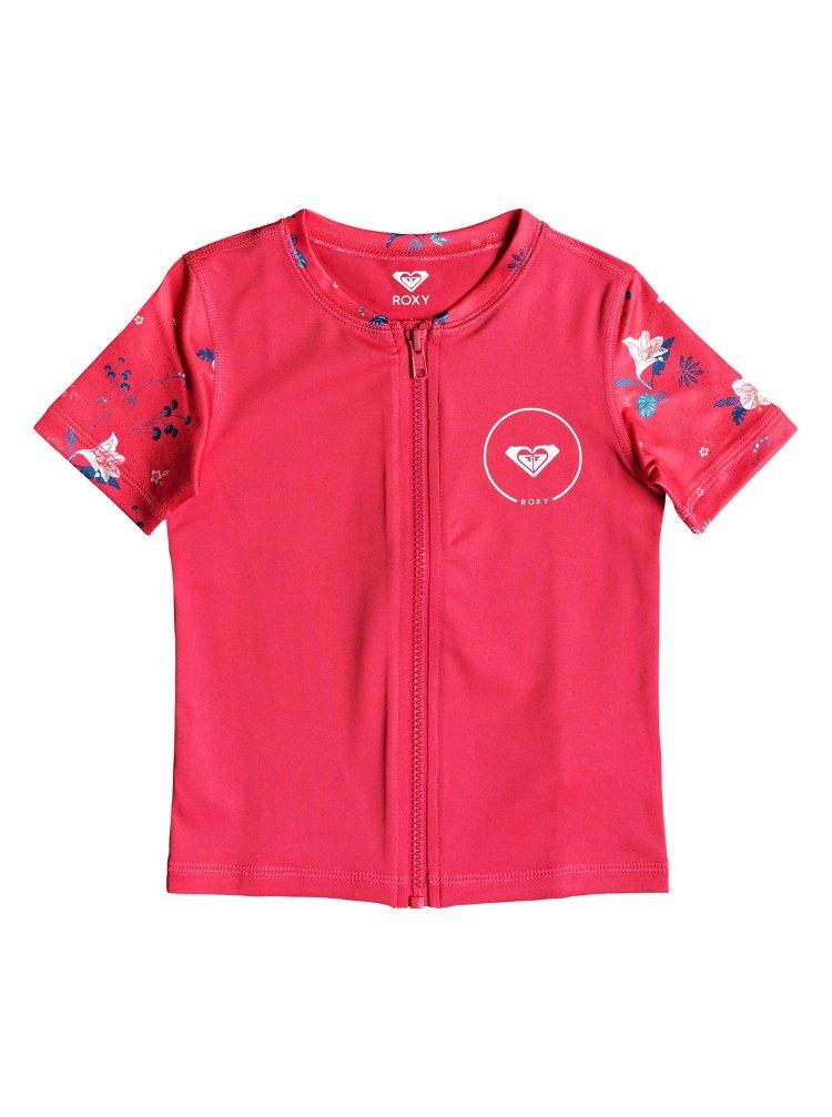 Купить Гидрофутболка для девочек ROXY Shortbreak Ss Z K Rouge Red Tropicool, Вьетнам