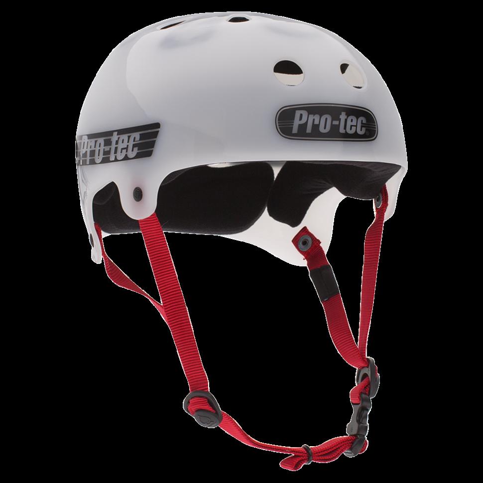 Шлем для скейтборда PRO-TEC Bucky Translucent White фото