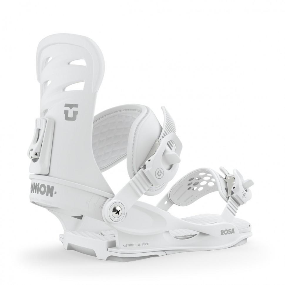 Крепления для сноуборда женские UNION Rosa White 2020 фото