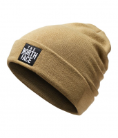 Шапка THE NORTH FACE Dock Worker Beanie Kelp Tan/TNF Black