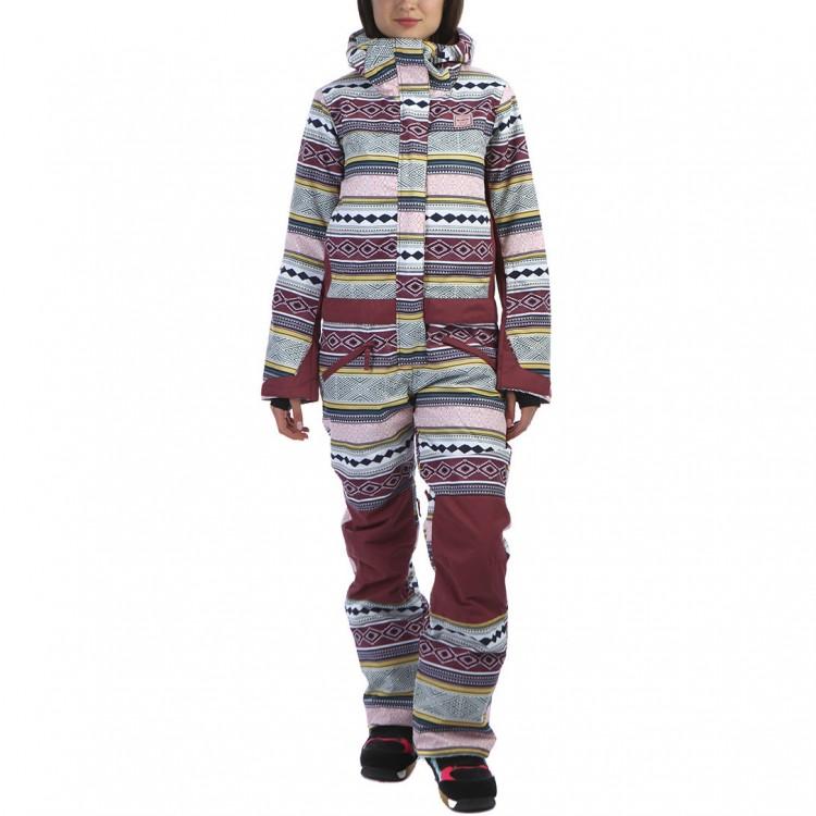 37f6e8c027db Комбинезон сноубордический женский BILLABONG Thyra Aztec — купить в ...