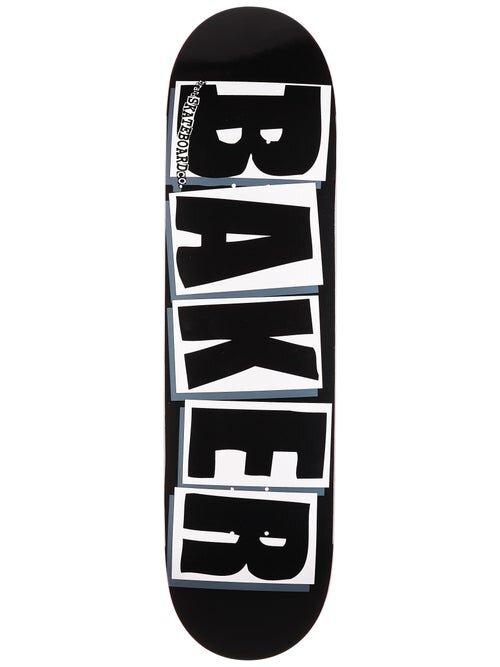 Дека для скейтборда BAKER Brand Logo Deck Black White 8.25 дюйм