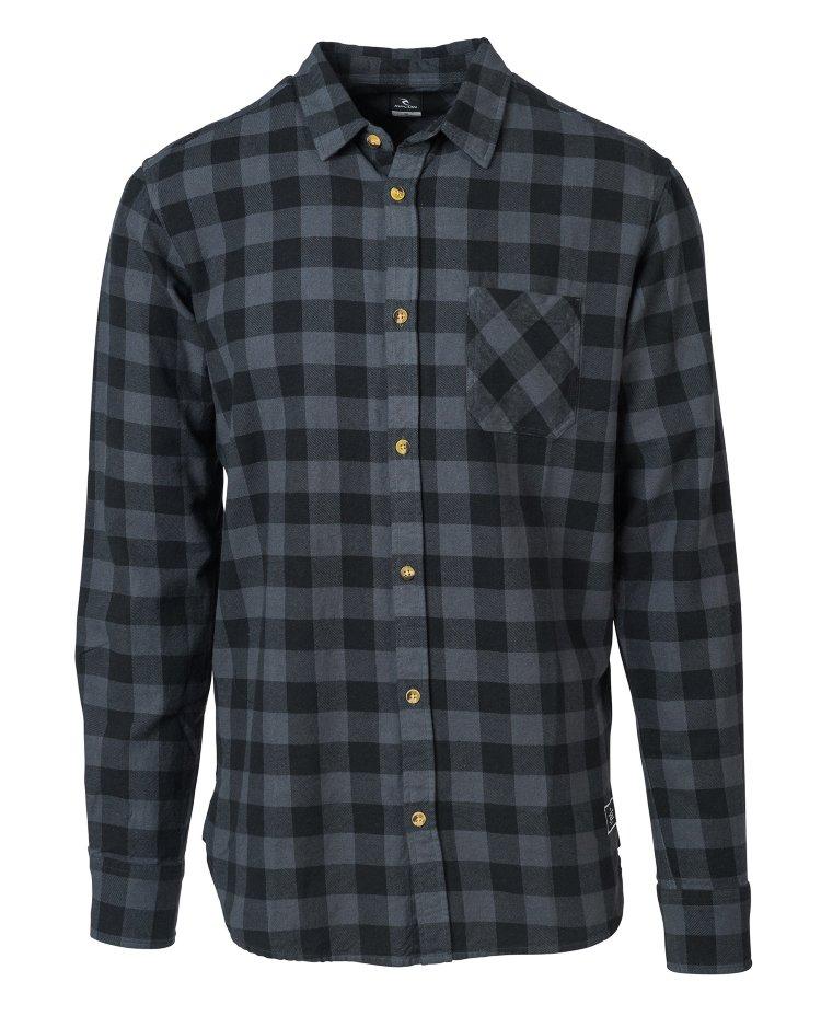 Купить Рубашка RIP CURL Check It Shirt Black, Китай