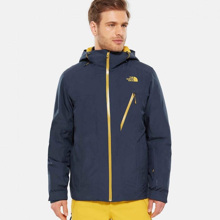 Купить Куртка для сноуборда мужская THE NORTH FACE M Descendit Jacket Urban Navy, Индонезия