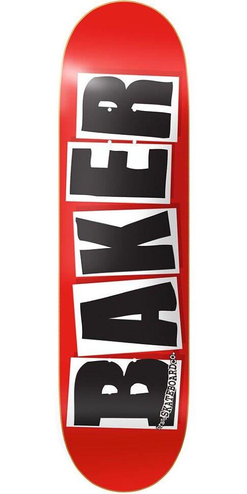Дека для скейтборда BAKER Brand Logo Deck Red Foil 8.25 дюйм