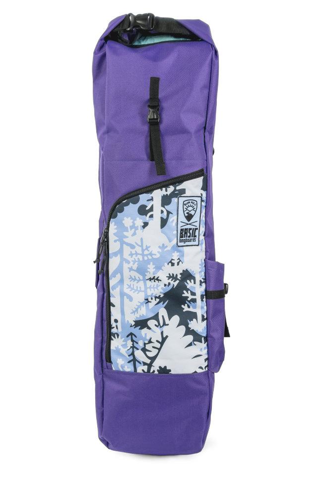 Чехол для лонгборда SUNHILL Long Pack Purple/Basic Print 2000000256481