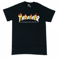 Футболка THRASHER Flame Mag T-Shirt BLACK