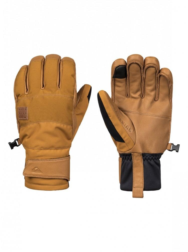 Купить Перчатки QUIKSILVER Squad Glove M Golden Brown, Вьетнам