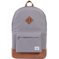 Рюкзак HERSCHEL Heritage A/S Grey/Tan Synthetic Leather
