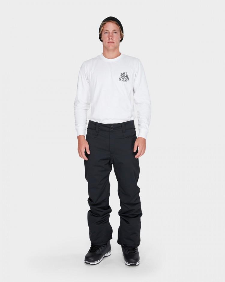 Купить Штаны для сноуборда мужские BILLABONG Outsider Black Caviar, Китай