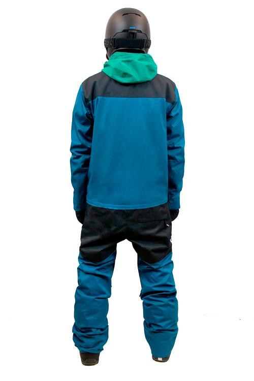 e872c48ad0a36 Комбинезон мужской AIRBLASTER Freedom Suit Gnu Blue — купить в ...